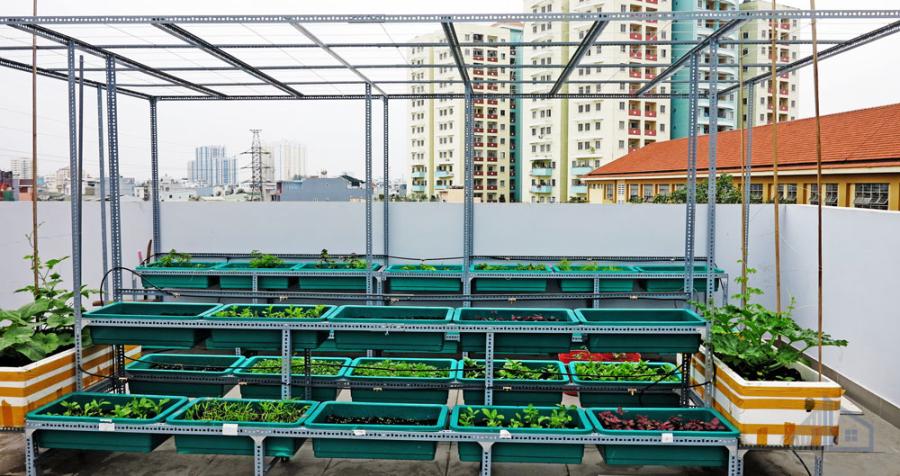 Mẫu nhà phố hiện đại diện tích 13.9 x 22.6m tại Bình Tân