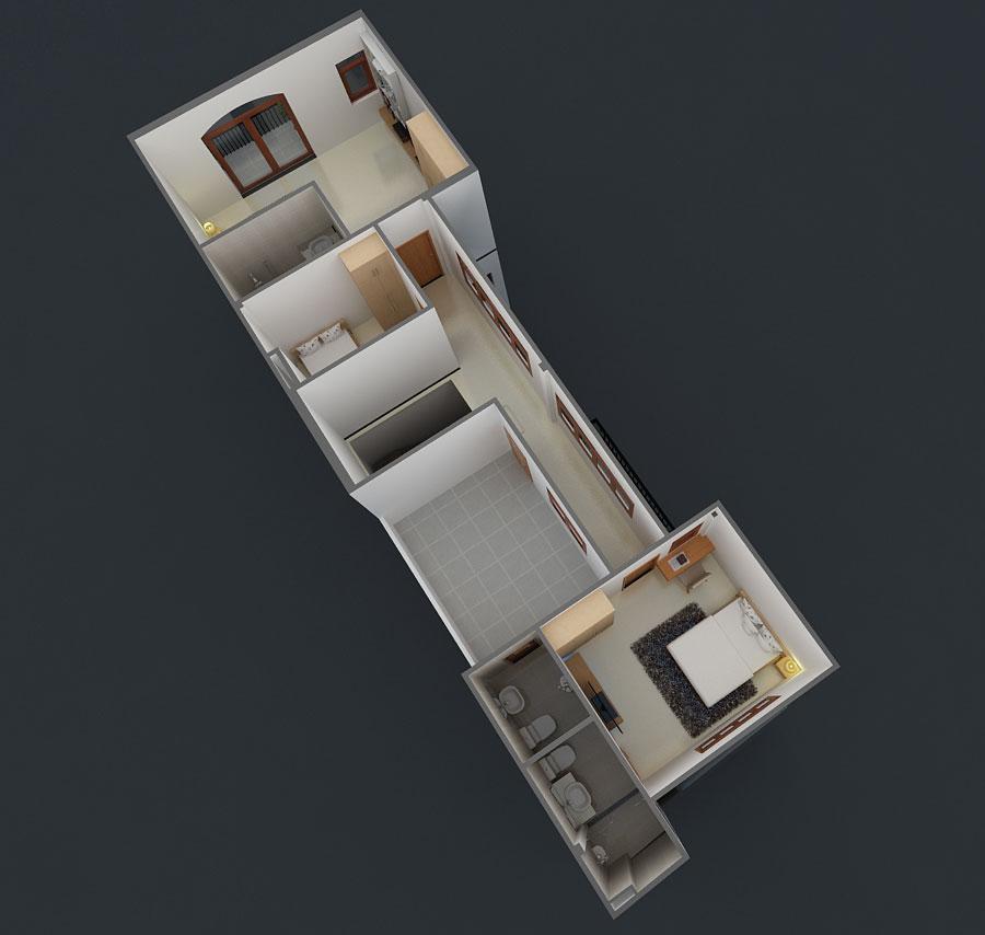 Biệt thự bán cổ điển 6x23m tại quận 9