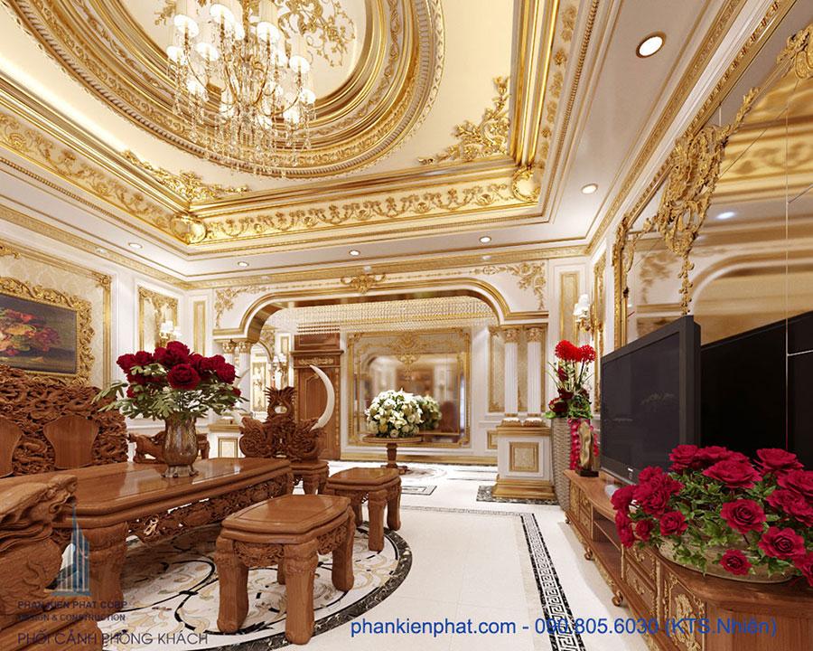 Biệt thự cổ điển hoàng gia 13x20m tại Quảng Ninh