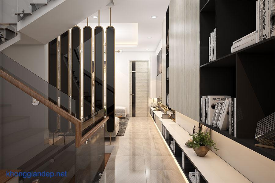 Mẫu thiết kế nhà phố 5 tầng đẹp hiện đại tại Phú Yên