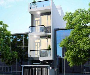 Thiết kế nhà phố 4 tầng 4x15m hiện đại sang trọng
