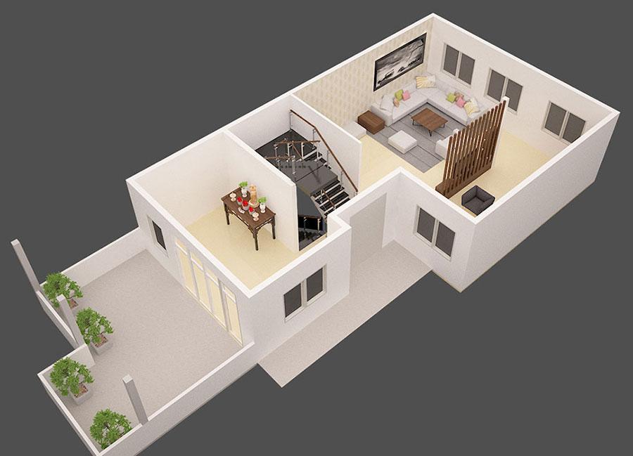 Mẫu biệt thự 3 tầng hiện đại đẹp tại Cần Thơ