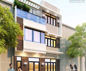 Mẫu nhà phố 3 tầng diện tích 6,6 x 5m tại Thủ Đức