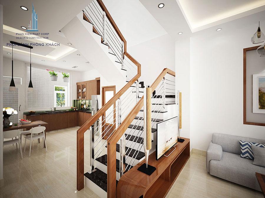 Mẫu thiết kế nhà phố 3 tầng đẹp lung linh